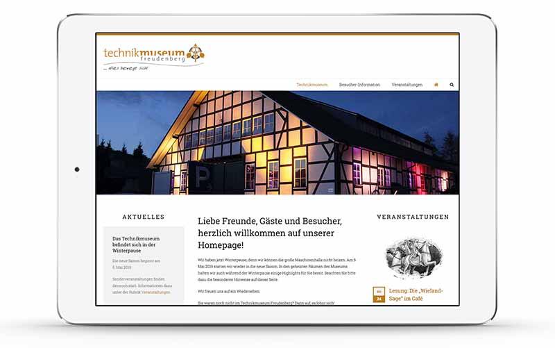 Webdesign OtterbachMedien · Freudenberg · Siegen · Olpe